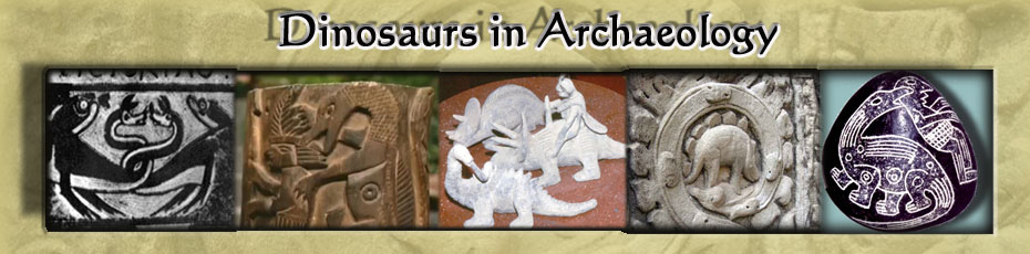 Dinosaurs in Archeaology Header