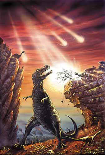 Did a meteor really wipe out the dinosaurs?